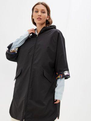 Черная утепленная куртка Grafinia