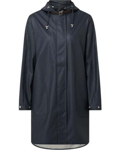 Niebieski płaszcz z kapturem Ilse Jacobsen
