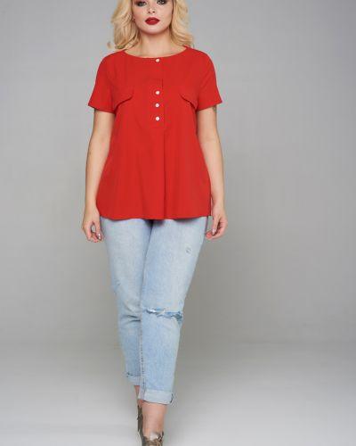 Блузка с кокеткой на пуговицах Mari-line