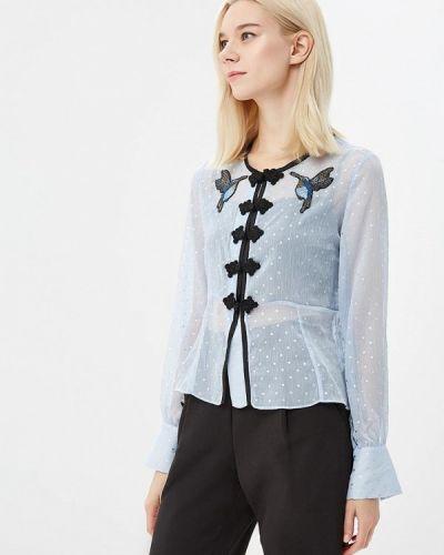 Голубая блузка с длинным рукавом Sister Jane