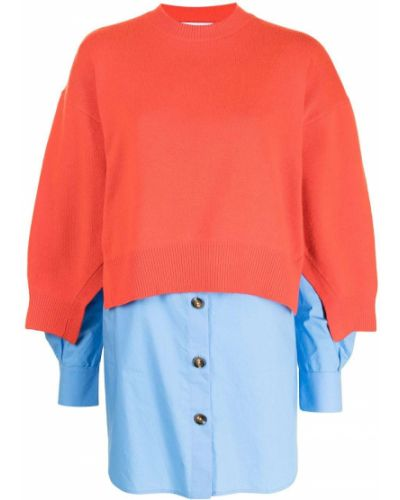Tunika z długimi rękawami - niebieska Enfold