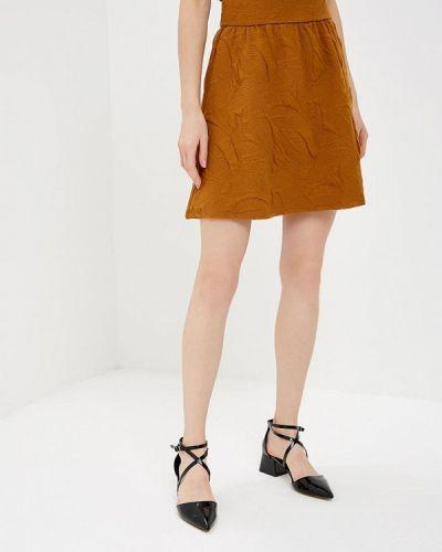 Юбка коричневый Vila