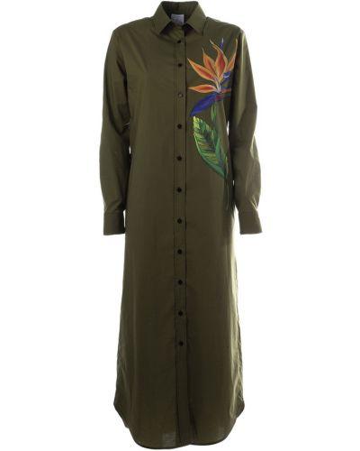 Zielona sukienka Stella Jean