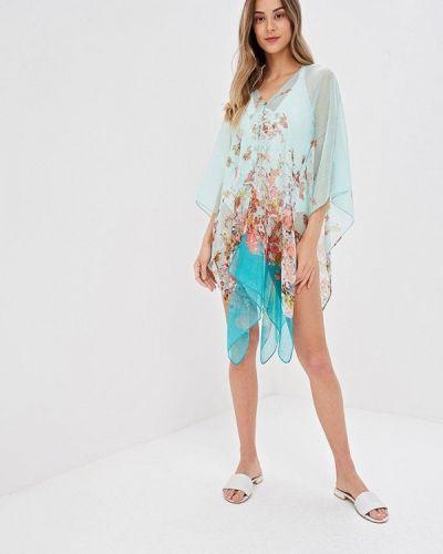 Пляжное платье весеннее бирюзовый Venera