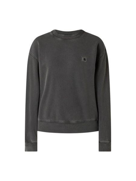 Bluza bawełniana - czarna Carhartt Work In Progress