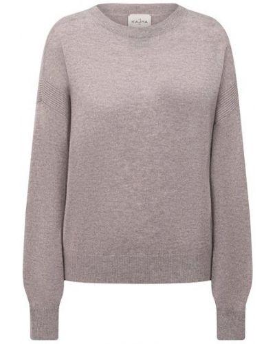 Трикотажный пуловер - бежевый Le Kasha