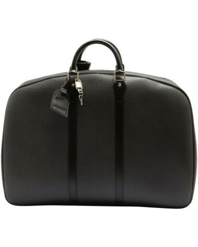 Czarna torba podróżna Louis Vuitton Vintage