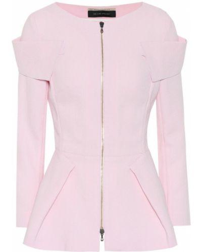 Розовая куртка Roland Mouret