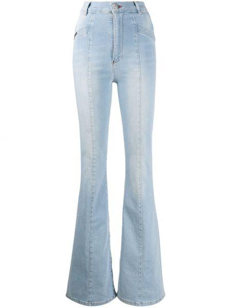 Расклешенные джинсы на пуговицах Philipp Plein