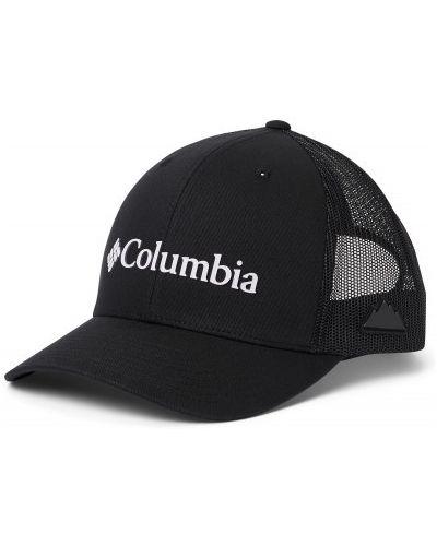 Хлопковая черная бейсболка сетчатая Columbia