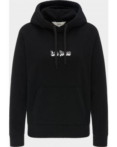 Черный свитер Lee