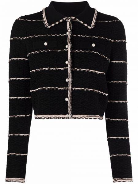 Пиджак длинный - черный Sandro Paris