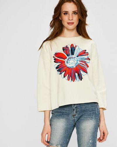 Кофта свободного кроя с капюшоном Andy Warhol By Pepe Jeans