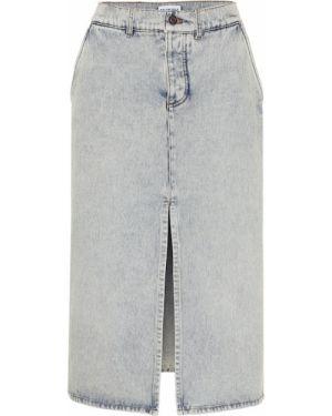 Юбка миди джинсовая пачка Balenciaga