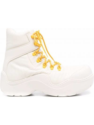 Ankle boots - białe Bottega Veneta