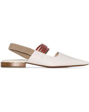 Туфли с открытой пяткой Poiret