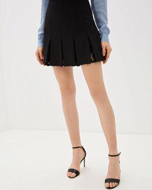 Юбка черная широкая Liu Jo