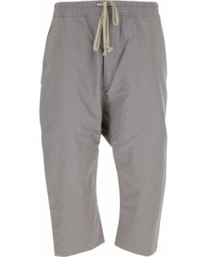 Szare spodnie bawełniane Drkshdw