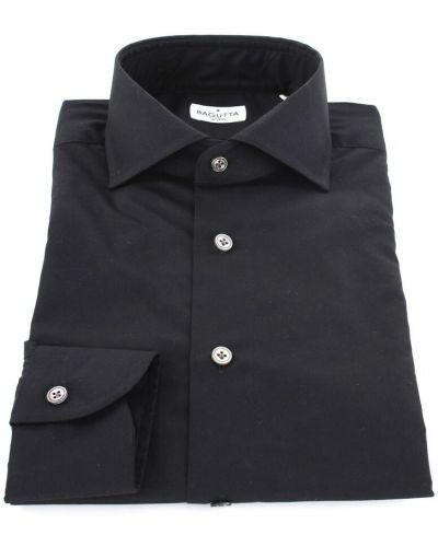 Czarna koszula Bagutta