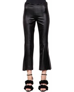 Укороченные брюки со складками Marco De Vincenzo