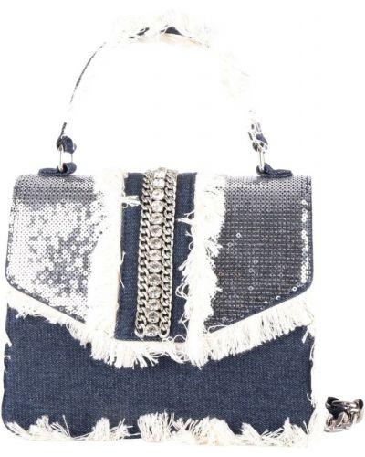 Niebieska torebka na łańcuszku Mia Bag