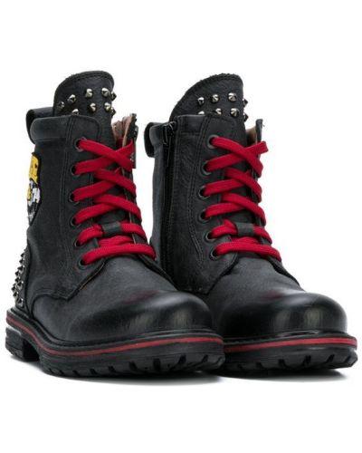 Ботинки черные Iceberg Kids