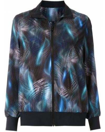 Темно-синяя длинная куртка с манжетами Lygia & Nanny