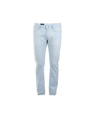 Джинсы повседневные голубой Armani Jeans