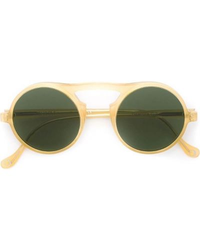 Оранжевые солнцезащитные очки Monocle Eyewear