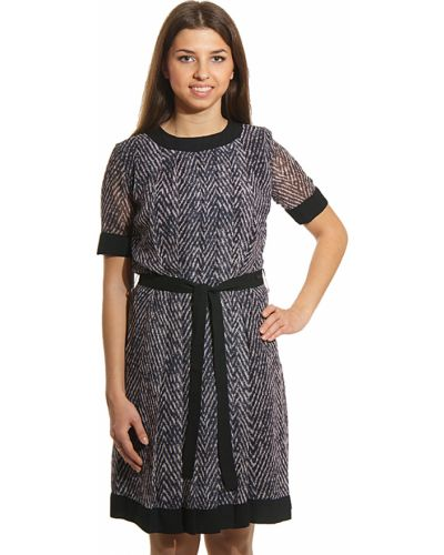 Платье из вискозы осеннее Cerruti 18crr81
