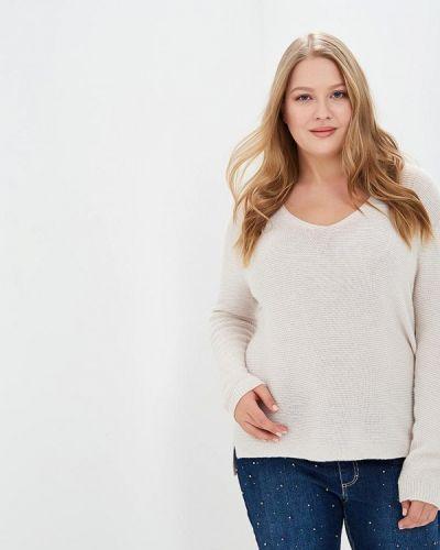 Пуловер бежевый итальянский Keyra