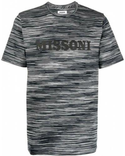 Czarna t-shirt Missoni