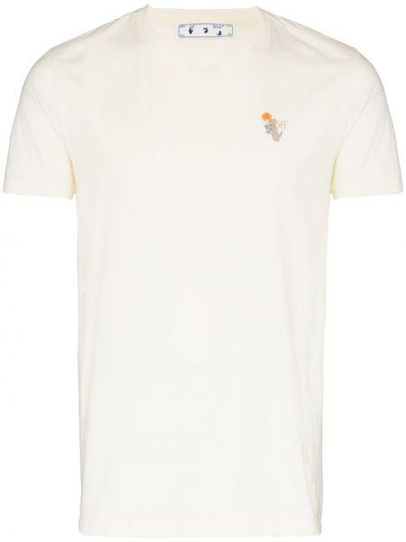 Bawełna bawełna biały koszula Off-white
