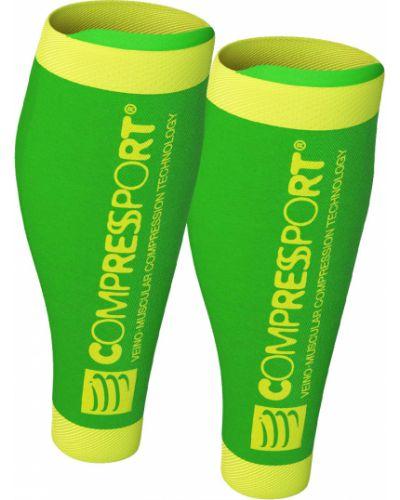 Zielone skarpety Compressport
