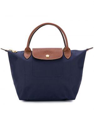 Нейлоновая сумка - синяя Longchamp
