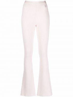 Зауженные брюки - розовые Courrèges