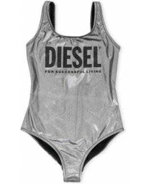 Strój kąpielowy na szyi srebro Diesel Kids