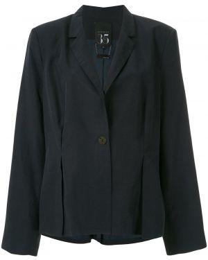 Синий пиджак с запахом Alcaçuz