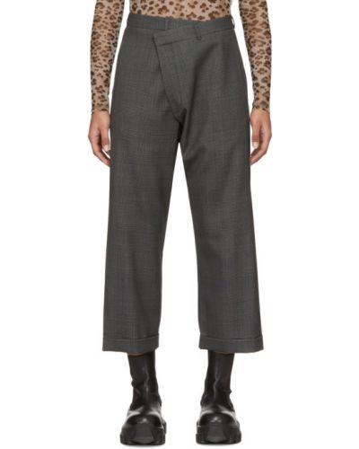 Укороченные брюки стрейч брюки-хулиганы R13