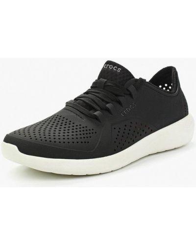 Черные кроссовки низкие Crocs