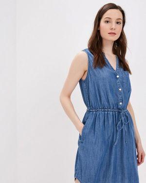 Джинсовое платье индийский синее Gap