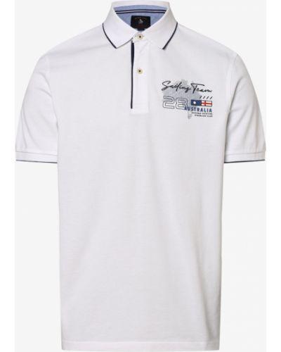 Niebieska koszulka w paski Andrew James Sailing