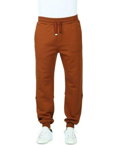 Brązowe spodnie Dondup