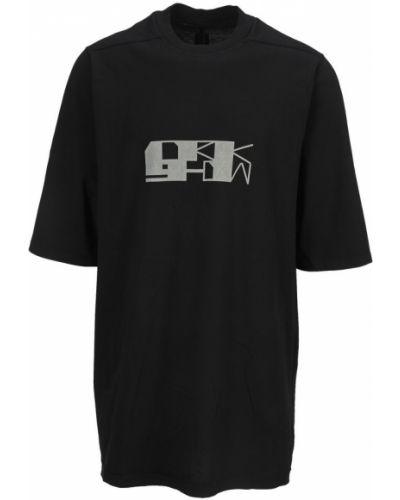 Czarna t-shirt Rick Owens