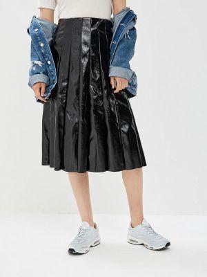Широкая черная юбка Paccio