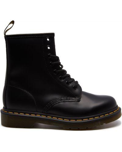 Кожаные ботинки с подкладкой Dr Martens