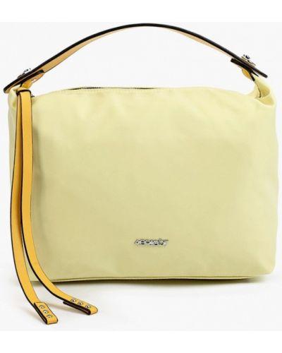 Желтая нейлоновая сумка Abricot