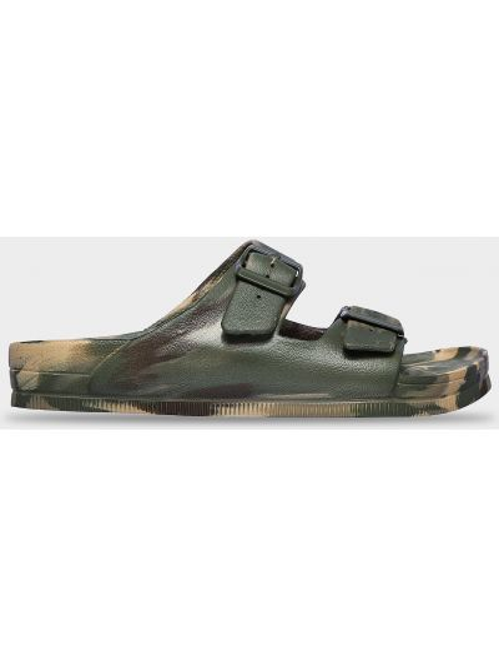 Повседневные кожаные шлепанцы Skechers
