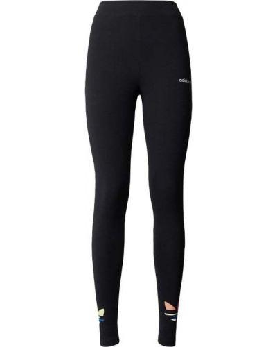 Czarne spodnie bawełniane Adidas Originals