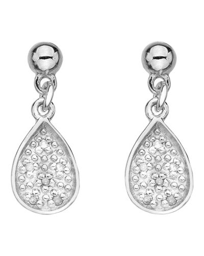Серебряные серьги серебряный Hot Diamonds